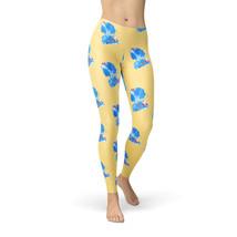 Snow White Pattern - Disney Inspired Fleece Leggings - $30.99+