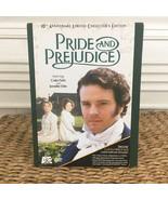 Pride and Prejudice (Mini-Series) DVD 2006 3-Disc Set 10th Anniversary BBC - $19.95