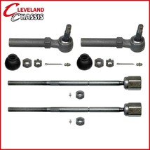 4 Steering Parts 2 Outer 2 Inner Tie Rod Ends Ford Mustang 1994-2004 - $45.31