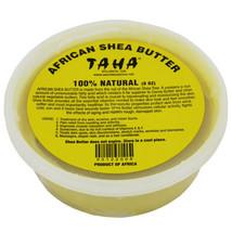 Taha 100% Natural African Shea Butter Body Skin Smooth Moisturizer 8oz -... - $8.22