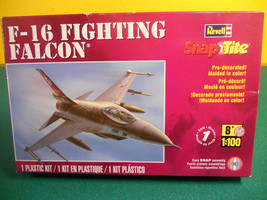 Revell 1:100 F-16 Fighting Falcon Snap Tite NEW!! - $9.99