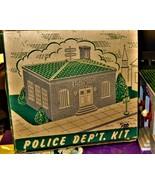 HO Trains Plasticville Structure Police Department - $20.00