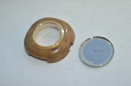 1974 Caravelle N4 Marbled Tan Plastic Watch Case  ''Extremely Rare'' - $56.06