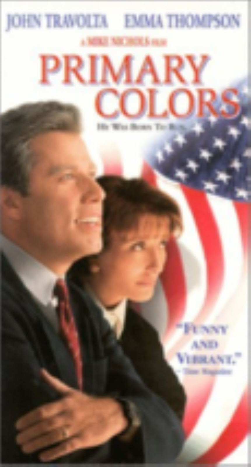 Primary Colors Vhs