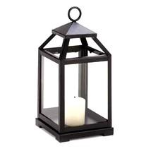 "3 Black Candle Lantern Candleholder Wedding Centerpieces 12"" Tall - $48.46"