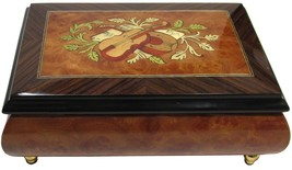 "Italian Music Box, 6.5"", Musical Inlay - $199.95"