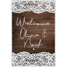 Welcome to Our Wedding Ceremony Sign Poster - $12.38