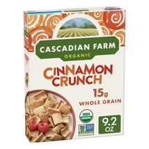 Cascadian Farm Organic Cinnamon Crunch Cereal 9.2 oz - $5.50