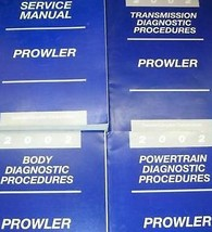 2002 PLYMOUTH PROWLER Service Repair Workshop Shop Manual Set W Diagnost... - $79.19