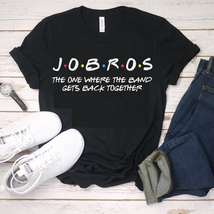Jobros The One Where The Band T-shirt Unisex Best shirt for Father's Day... - $14.99
