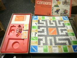 L77 PARKER BROTHERS 66 CAREERS INCOMPLETE BOARD GAME USED SOLD AS-IS - $5.59