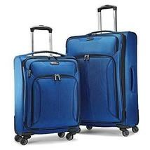 "Samsonite 2-PC 21"" & 27"" Spherion Expandable Spinner Suitcase True Blue image 2"