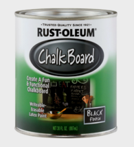 Rust-Oleum Black Chalkboard Latex Paint Writeable Erasable Multi-Surface... - $21.84