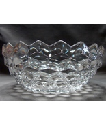 "Fostoria American Clear 81/4"" Crystal Round Serving Bowl - $26.99"