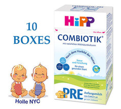 HiPP Stage Pre Bio Combiotic Infant Formula 10 Boxes 600g Free Shipping - $319.95