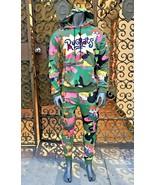 Men's Green   Pink Multicolor Rugrats Tracksuit - $225.00