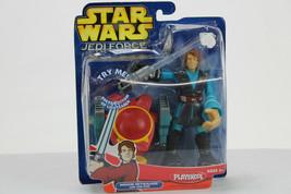 Star Wars Playskool Jedi Force Anakin Skywalker w/Jet Pod Mip 2005 - $16.83