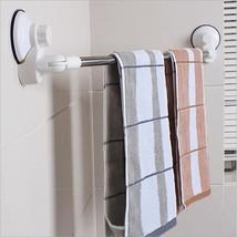 Towel Rack 28 Inches Shelf Bathroom Rail Stainless Steel Adjustable Acce... - $23.99