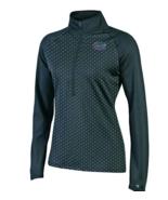New Florida Gators Women's Champion Classic Workout 1/2 Zip Jacket XS Black - $13.50
