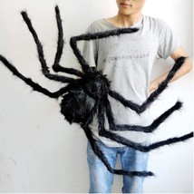 Halloween Decoration Spider Haunted House Prop Scary Party Plush Decor P... - $3.95+