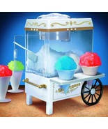 Nostalgia Electric Snow Cone Maker Shave Ice Syrup Vintage Collection Fa... - $46.56