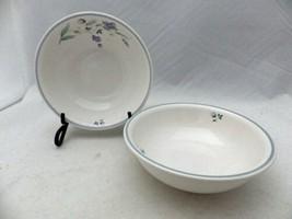 "Pfaltzgraff April pattern - set/lot of 2 Cereal/Soup Bowls - 6"" wide - EUC - $9.90"