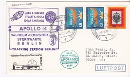Apollo 14 Tracking Station Berlin Germany 2/6/1971 - $1.98