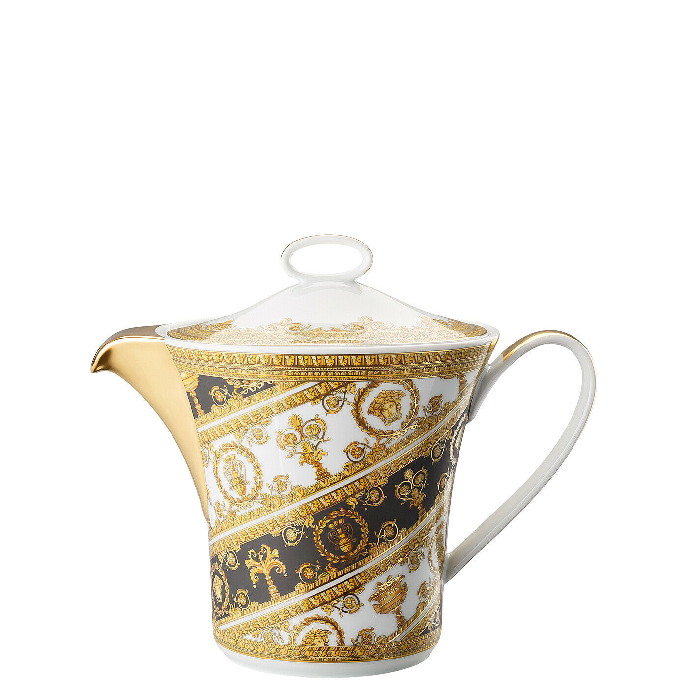 Versace Home I Love BaroqueTea Pot 3 Porcelain Made in Italy - $650.35