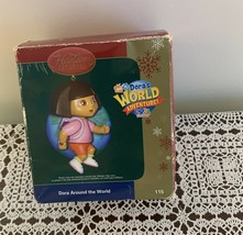 2006 Carlton Cards Ornament 115 Dora Around the World Adventure Explorer Charity - $9.99
