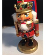 "Kurt Adler 9"" Wooden Hand Crafted Nutcracker King - $19.80"