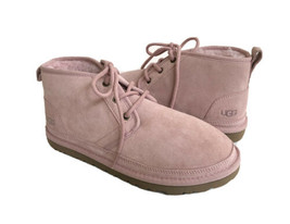 UGG WOMEN NEUMEL PINK CRYSTAL SHEARLING SUEDE SHOE US 9 / EU 40 / UK 7 - $135.58