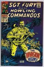 Sgt Fury and His Howling Commandos #50 ORIGINAL Vintage 1968 Marvel Comics - $14.84