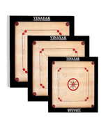 """Kids size Carrom Board Toy carromboard game 14"""" 4+ age group with Acryli... - £55.86 GBP"""