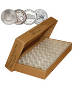 Direct-Fit Airtight 21mm Coin Capsule Holders For NICKELS (QTY: 250) - $59.35