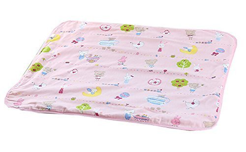 Cotton Baby Home Travel Urine Pad Mat Cover Changing Pad 70100cm, Pink