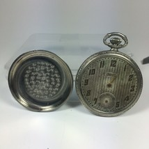 Imperial Pocket Watch Keystone Silveroid Case Parts / Repair - $30.29