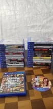 Lot 26 Rare PS4 games For Playstation 4 GTA V, FINAL FANTASY, NBA. MAFFI... - $317.89