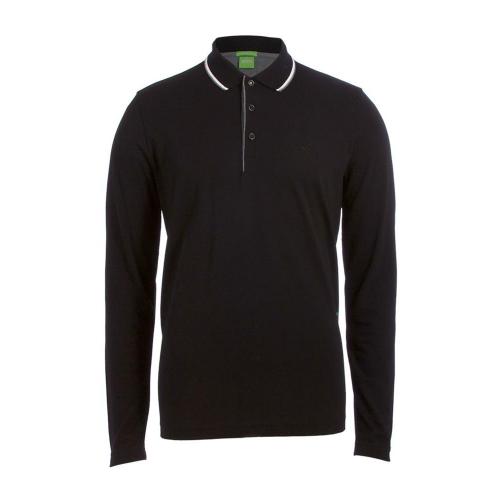 Hugo Boss Men's Premium Cotton Sport Long Sleeve Polo Shirt T-Shirt 50326123