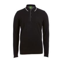 Hugo Boss Men's Premium Cotton Sport Long Sleeve Polo Shirt T-Shirt 50326123 image 2