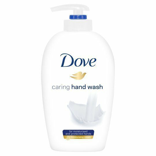 3 X DOVE Caring Hand Wash with Moisturising Cream SOFT and SMOOTH Hands JOB LOT