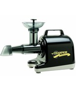 Champion 4000 BLACK Household Juicer~ Augers for Grinding & Greens~ Made... - $399.95