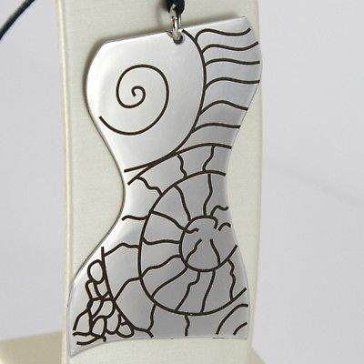 STAINLESS STEEL LOVERS BODY BIG PENDANT CHARMS 2.2 INCH. FINELY WORKED BY KATIA