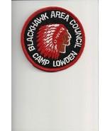 Blackhawk Area Council Camp Lowden patch - $5.94