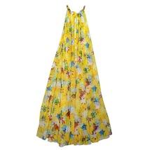 Sleeveless Plus Size Leopard Chiffon Dress Maxi Summer Beach Leopard Dresses image 6