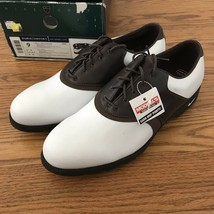 Vintage Nike Air Accel Lite Golf Shoes Mens size 9 Deadstock NIB 2003 Sw... - $107.91