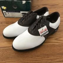 Vintage Nike Air Accel Lite Golf Shoes Mens size 9 Deadstock NIB 2003 Swoosh Air - $107.91