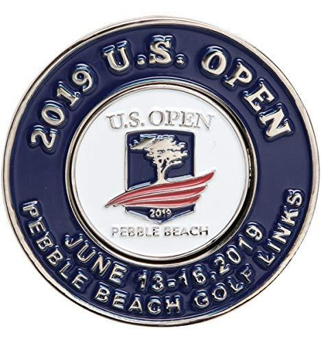 Primary image for 2019 US Open Mondomark Golf Ball Marker, Pebble Beach USGA w/Past Years as Host