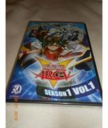 YU-GI-OH ARC-V SEASON 1 VOL. 1 New Sealed 3 DVD Set 24 Episodes Free Ship - $8.42