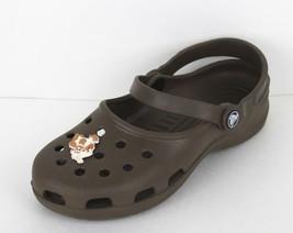 Crocs Damen Clogs Sandalen Gummi Braun Größe 7 - $19.27