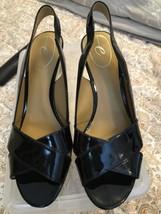 Easy Spirit - Black Patent Leather Heels - Genuine Leather - Wedge Heels - Sz 8M - $29.69